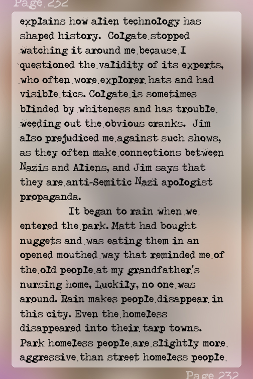"""Chapter32 """"...connections between Nazis and Aliens..."""" #RatsThatWillEatYou - TheShadowmark - Page 232"""