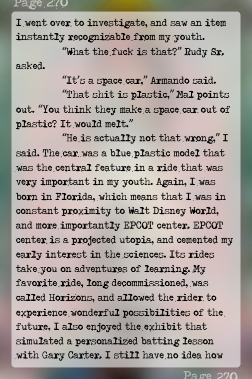 """RtsThatWillEatYou """"It's a space car,"""" Armando says. """"That shit is plastic,"""" Mal points out. - Page 270"""