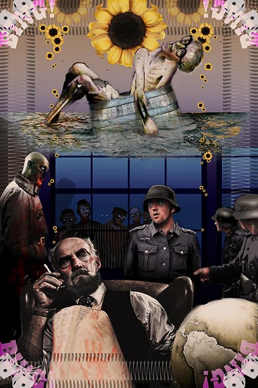 """My favorite scenario involves a zombie outbreak at Bergen-Belsen."" #RatsThatWillEatYou - Chapter 44"