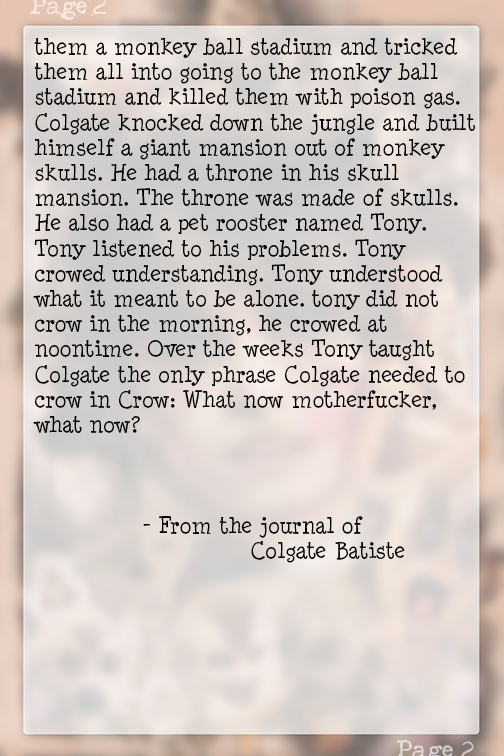 Page 2 #RatsThatWillEatYou - ShadowmarkProductions #Free2Read