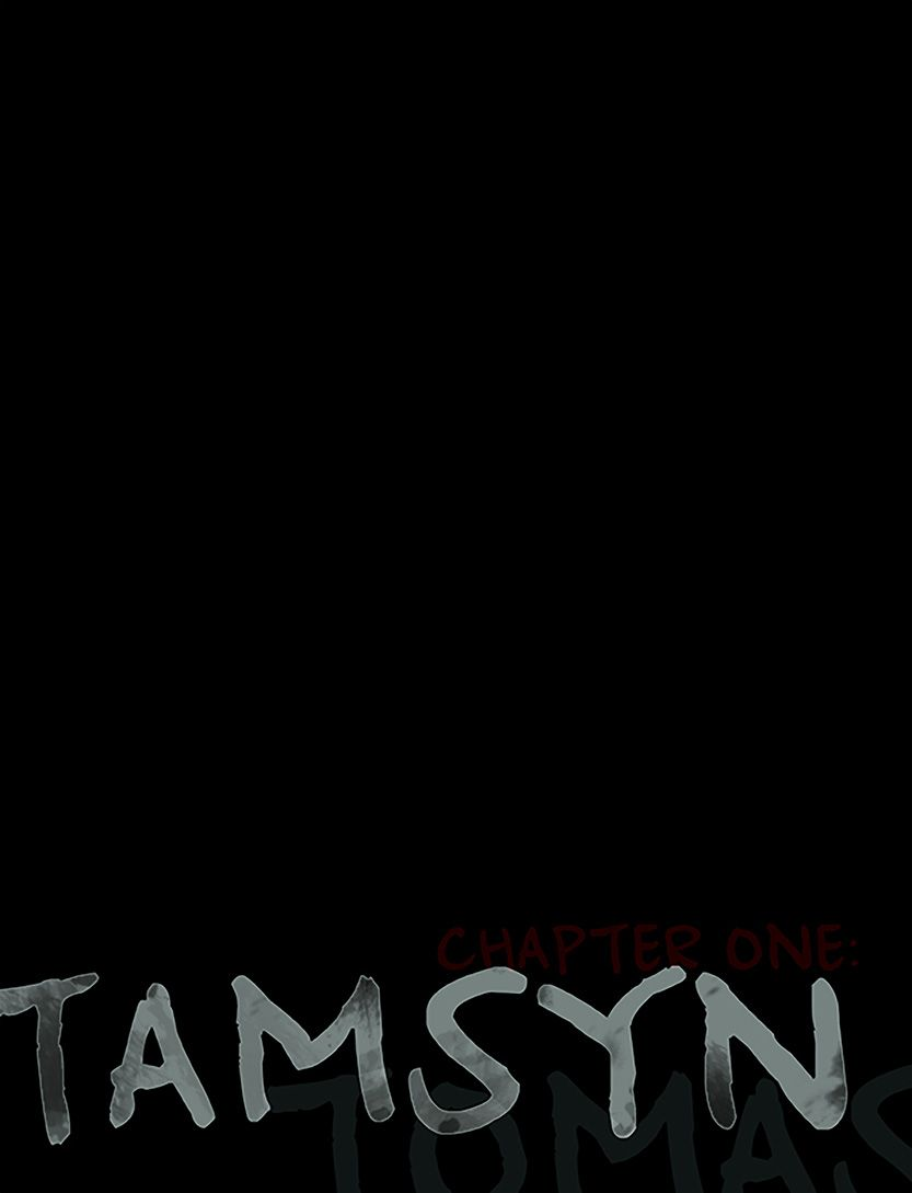 Tamsyn title page, from the comic book series: THE FLOOD ~ a salvation myth