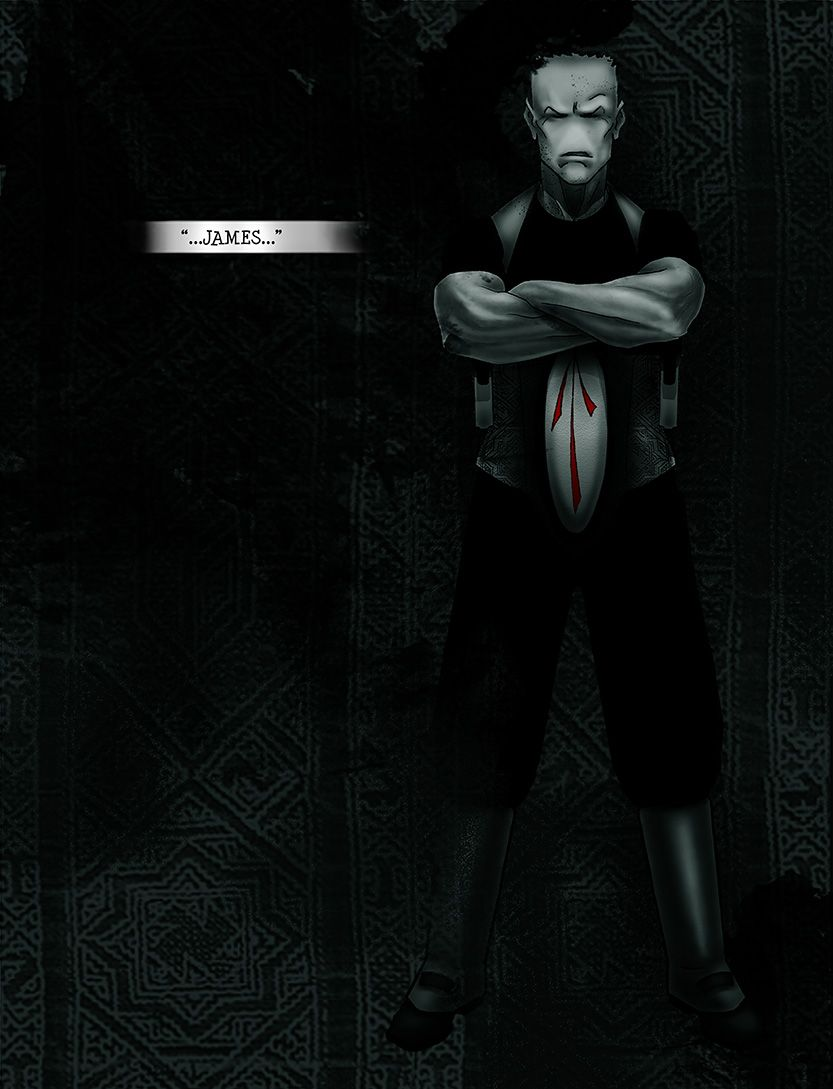 First appearance of James, from the comic book series: THE FLOOD ~ a salvation myth