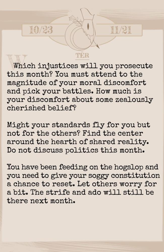 May Horoscope by Shadowmark Productions (Scorpio)